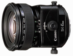 Canon 45mm f/2.8 TS-E catalogue image