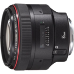 Canon 85mm f/1.2 L USM II catalogue image