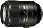 Nikon 105mm f/2.8 AFS ED VR II catalogue image