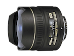 Nikon 10.5mm Fisheye f/2.8 G AF DX catalogue image