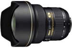 Nikon 14-24mm f/2.8 G AF-S ED catalogue image