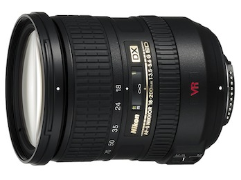 Nikon 18-200mm f/3.5-5.6 G AF-S IF ED VR DX image