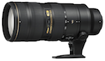 Nikon 70-200mm f/2.8 G AF-S IF ED VR II catalogue image